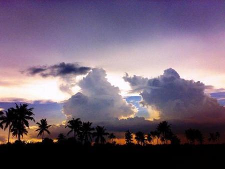 タガイタイの風景