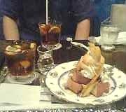 cafe&barでフレンチトースト